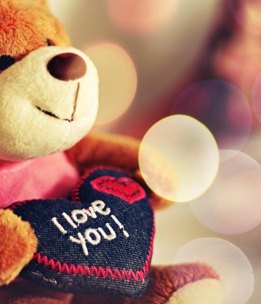 Deze teddy beer heeft je lief