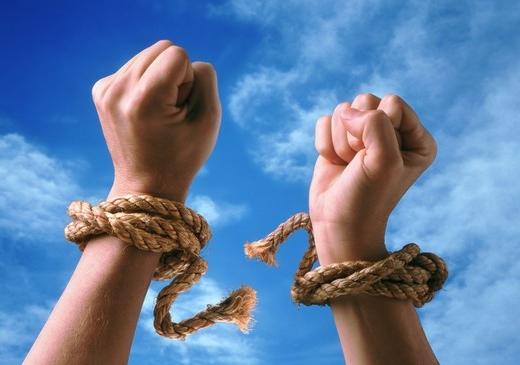 Bevrijding, breek de schakels