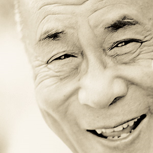 Zijne Heiligheid de Dalai Lama