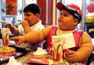 Obese kinderen bij McDonalds