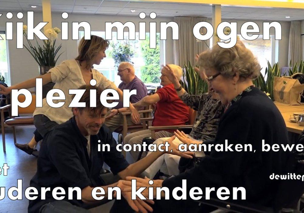 Kijk in mijn ogen dansproject voor ouderen en kinderen