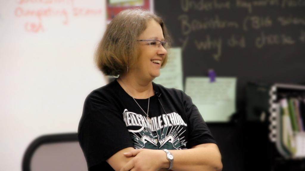 De lijst van de wiskunde<wbr />lerares, een inspirerend verhaal