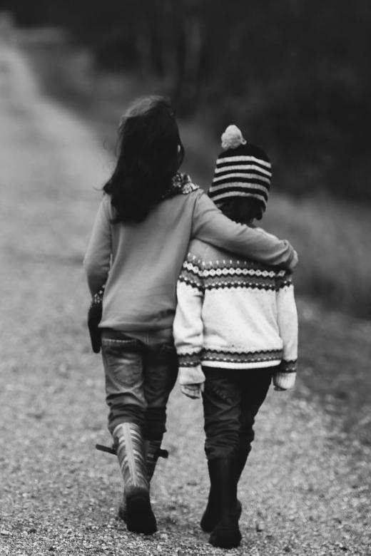 Eenheid begint met twee mensen die samen een wij vormen - heb elkander lief