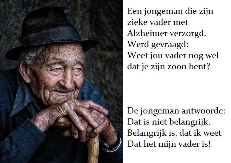Wat maakt de mens? Een zoon, zijn vader en Alzheimer