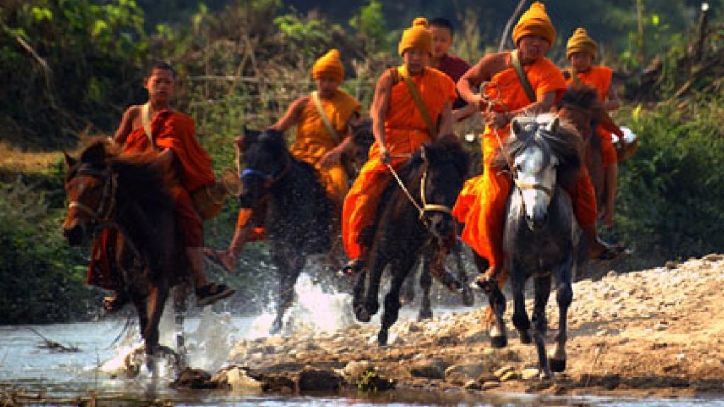 Krachtige vrede en de verloren kinderen van Boeddha